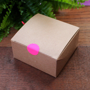 Kraft gift boxed heart by Laura Lee Designs