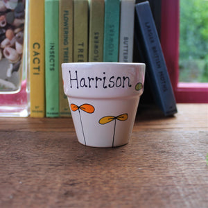 Personalised planter by Laura Lee Designs