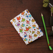 Load image into Gallery viewer, Knitting chickens notebook by Laura Lee Designs Cornwall