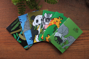 Sloth Notebook- Single Or Set - 36 Plain Pages - Pocket Size - 100% Recycled - Eco