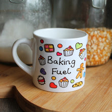 Load image into Gallery viewer, Children's baking fuel mug by Laura Lee Designs in Cornwall