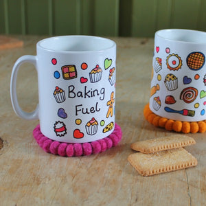 Baking mug by Laura Lee Designs