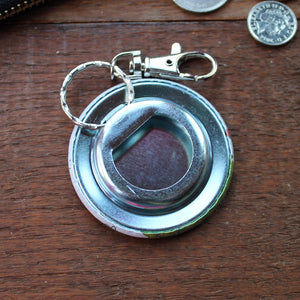 Bottle opener keyring by Laura Lee Designs