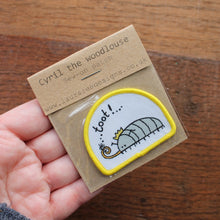 Load image into Gallery viewer, Limited Edition Cyril the woodlouse sew on patch by Laura Lee Designs