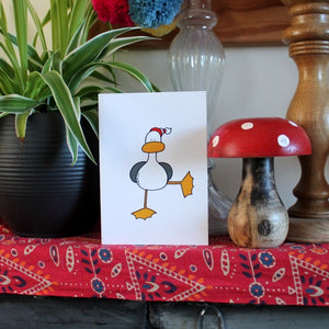 Ta Da! Seagull Card & Envelope - Blank Inside - Duck - Birthday - Christening -Greetings Card