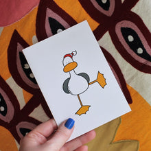 Load image into Gallery viewer, Ta Da! Seagull Card & Envelope - Blank Inside - Duck - Birthday - Christening -Greetings Card