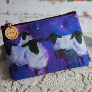 Galaxy sheep storage pouch by Laura Lee Designs Cornwall