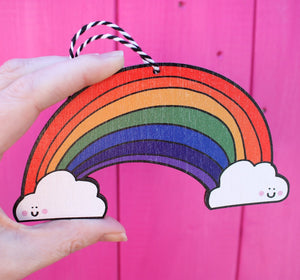 Hanging rainbow by Laura Lee Designs