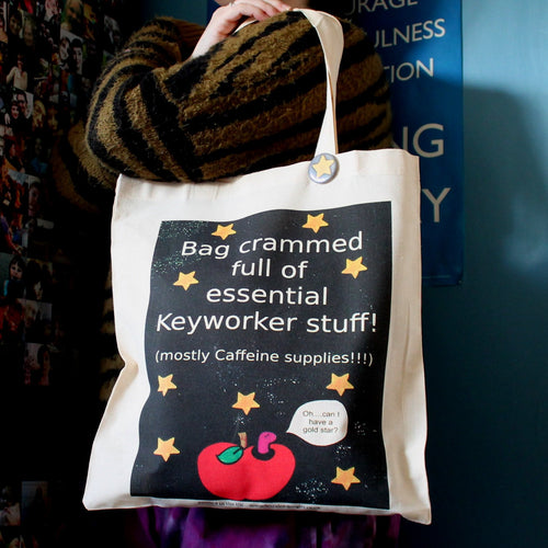 Keyworker teachers gift bag by Laura Lee Designs