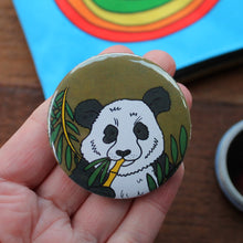 Load image into Gallery viewer, Panda pocket mirror by Laura Lee Designs Cornwall