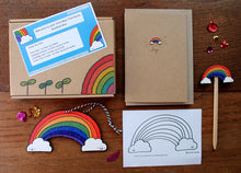Load image into Gallery viewer, Rainbow letterbox gift by Laura Lee Designs