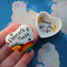 Load image into Gallery viewer, Super cute miniature trinket box with rainbow and sun by Laura Lee designs Cornwall