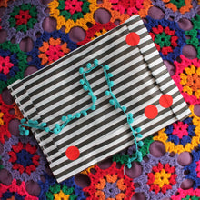 Load image into Gallery viewer, Gift wrapping black and white stripe bag