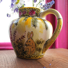 Load image into Gallery viewer, The vintage pimp bunny jug by Laura Lee Designs Cornwall