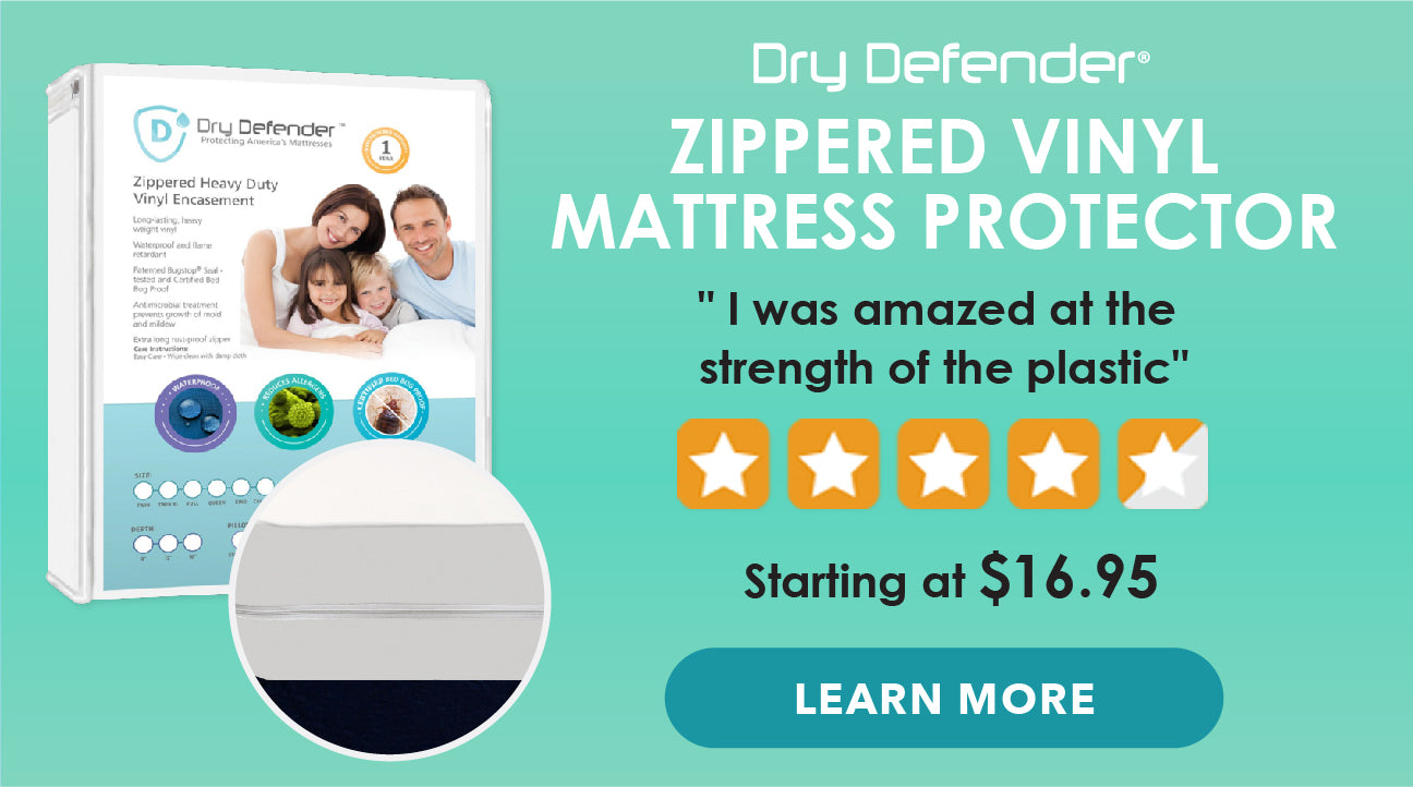 Dry Defender - Zippered Vinyl Mattress Protector