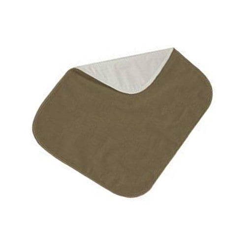 Brown Velour Protective Seat Pad