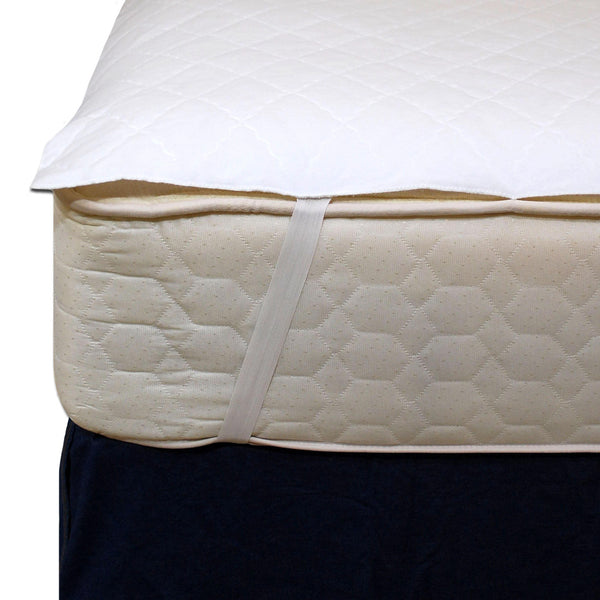 Waterproof Mattress Pad Anchor Band Style Bedwetting Store Protective Bedding