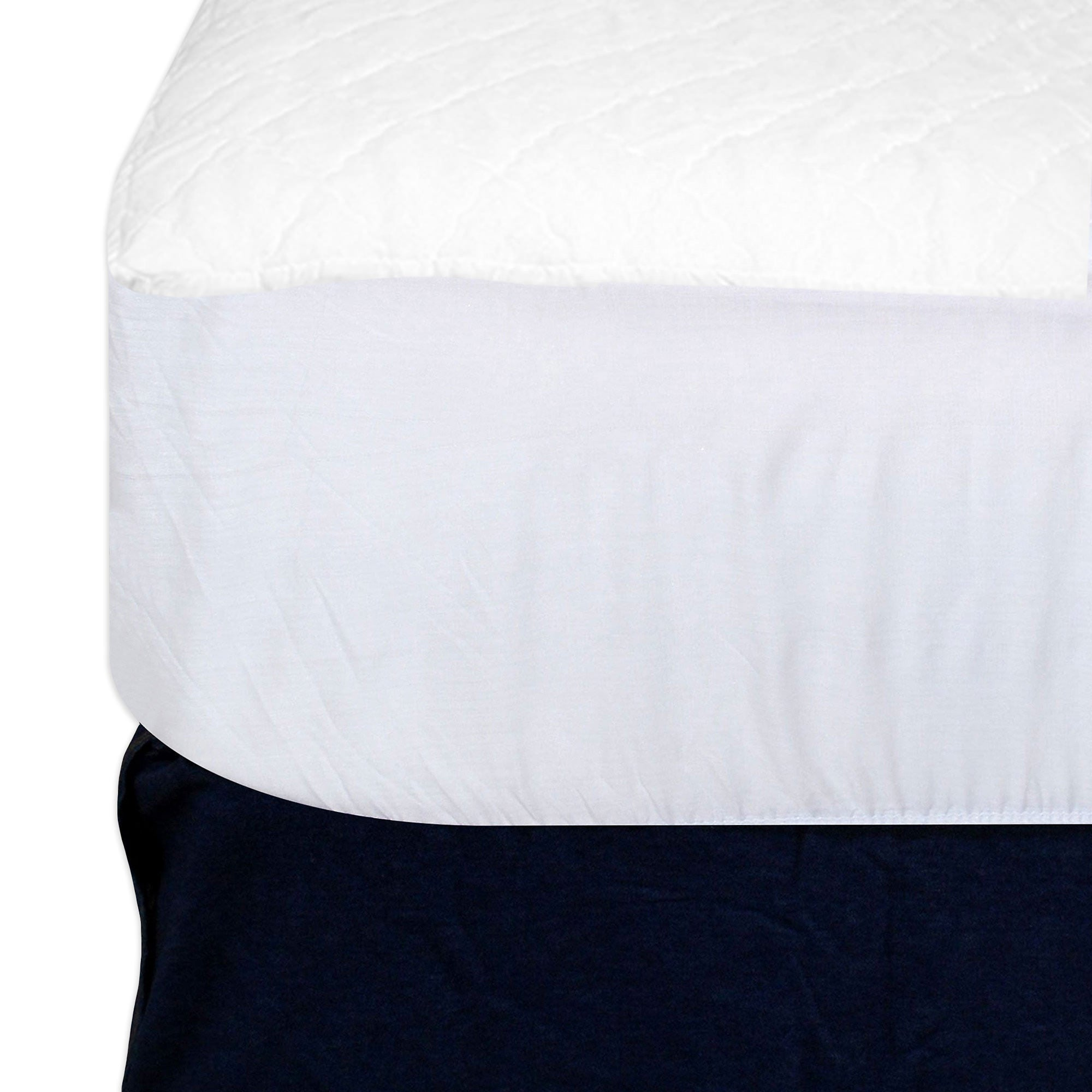 Mattress Pads-Dry Defender Waterproof Mattress Pad (Fitted)