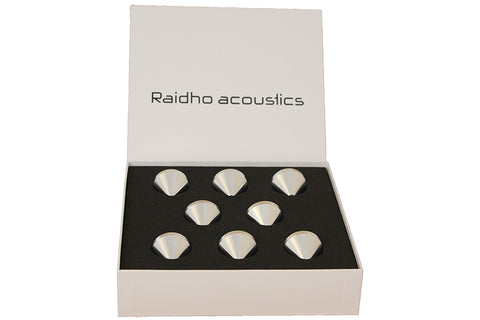 Raidho AC X Series Aluminum Feet for X Stands (Set of 8)
