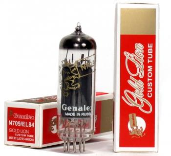 Genalex Gold Lion EL84 / N709 - Platinum Matched (Each)