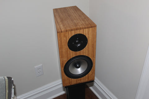 Bambusa AL 1 - Bamboo Cabinet Stand-Mount Speakers (Pair)