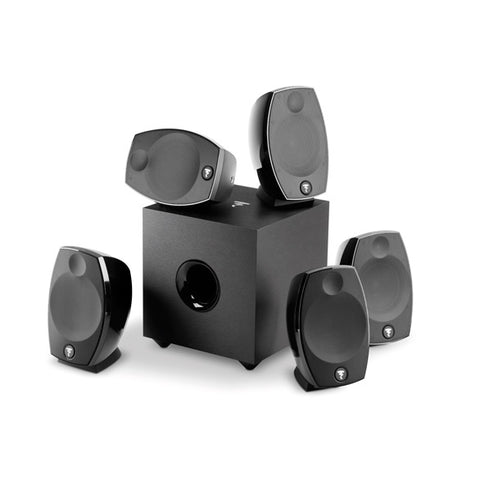 Focal Cinema Loudspeakers - Sib Evo 5.1 Pack w/ 5 Satellites and Subwoofer