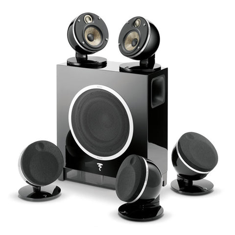 Focal Cinema Loudspeakers - Dome Flax Pack 5.1 - 5 Satellites w/ Sub Air