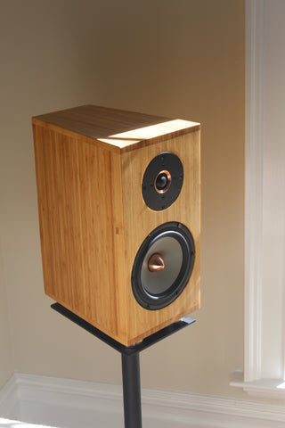Bambusa MG 1 - Bamboo Cabinet Stand-Mount Speakers (Pair)