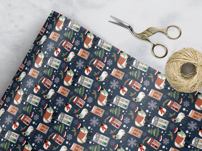 Welsh Winter - Wrapping Sheets