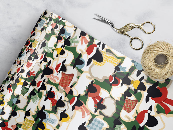 Woolly & Warm - Wrapping Sheets