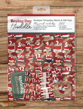 Load image into Gallery viewer, Boxing Day Huddle - Wrapping Sheets & Tags