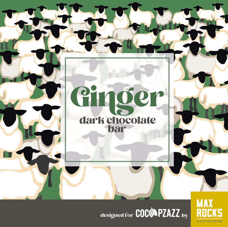 Ginger Dark Chocolate Bar