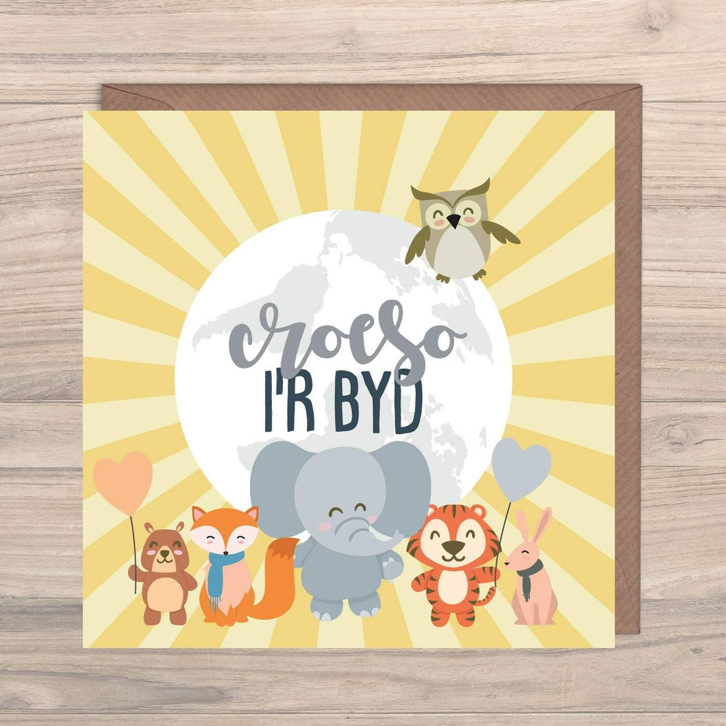 welsh greeting card