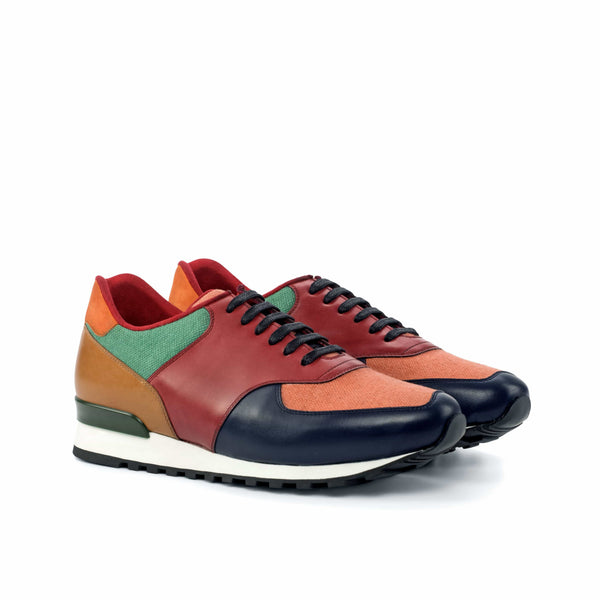 Joggers - Earth Rainbow Calf Leather