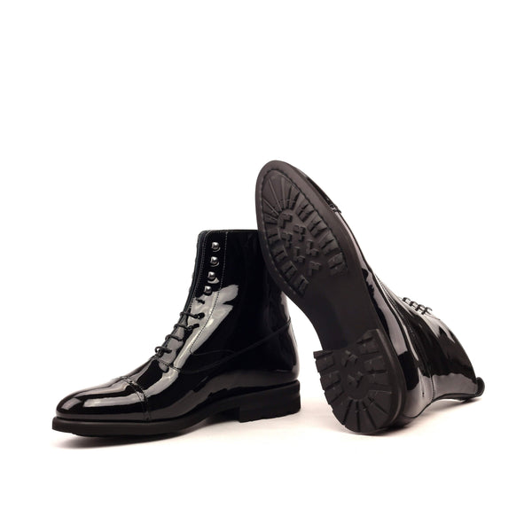 Balmoral - Patent Black Comando Sole-Albert Couture