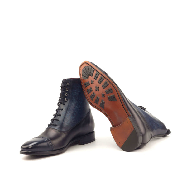 Balmoral - Patina Denim Polished black-Albert Couture