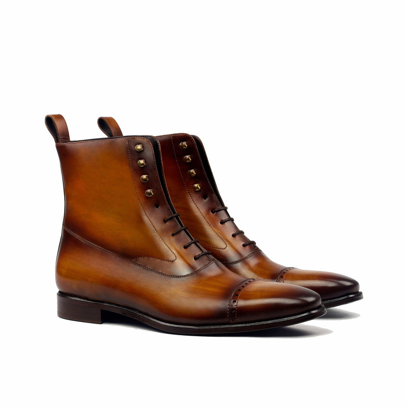 Balmoral - Crust Patina Cognac Regular-Albert Couture