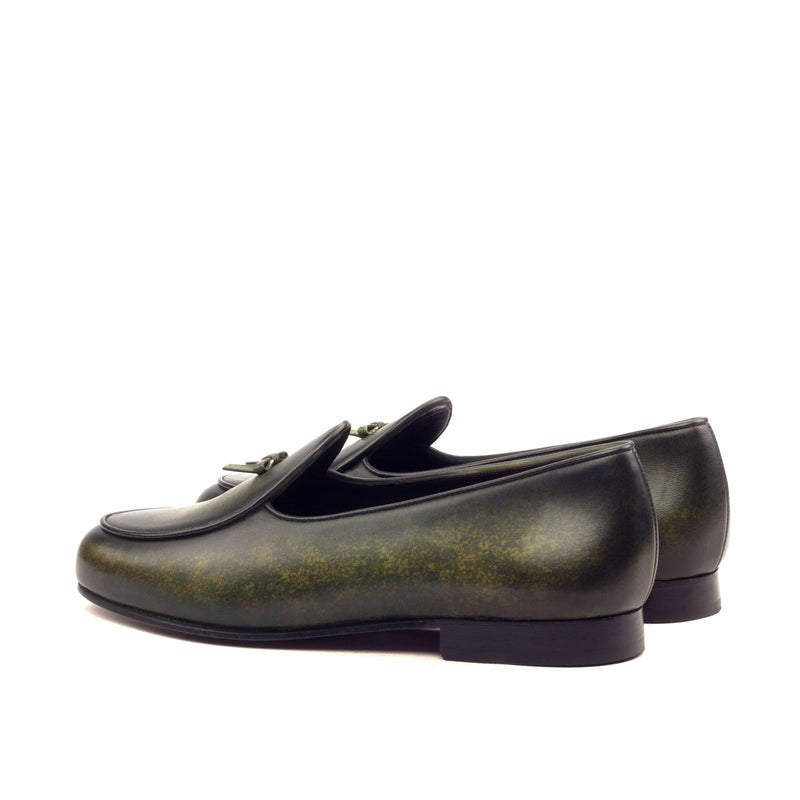 Slippers - Crust Patina Khaki-Albert Couture