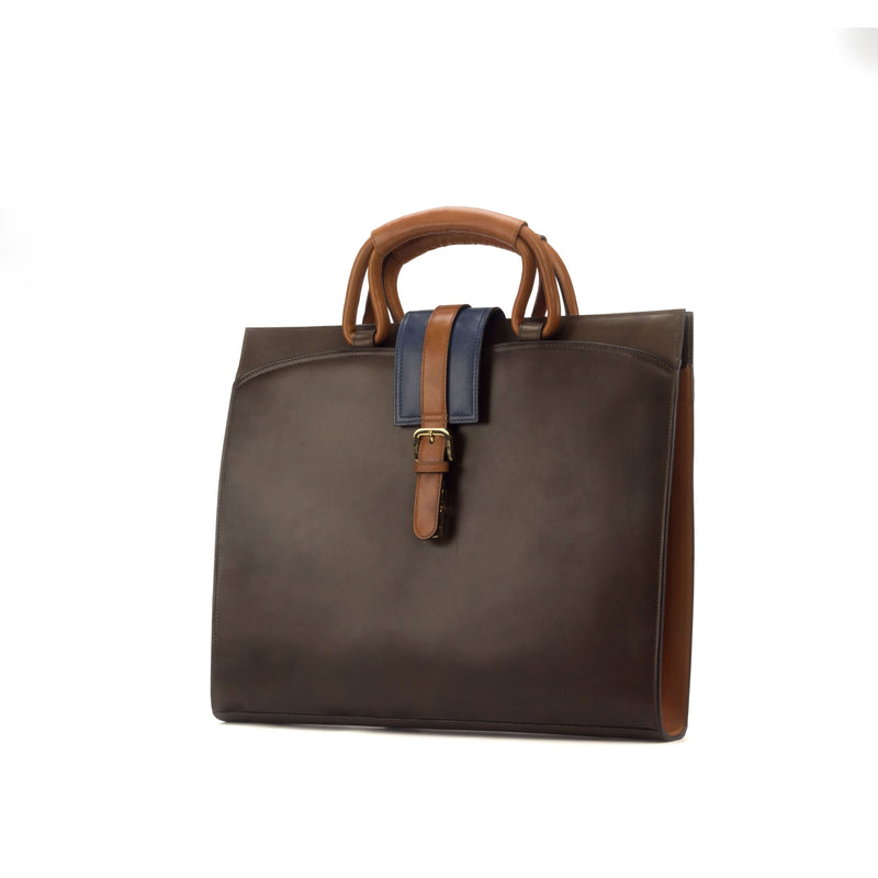Briefcase - Painted Calf Dark Brown - Painted Calf Cognac - Painted Calf Navy