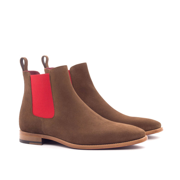 Chelsea Boots - Lux Suede Med Brown-Albert Couture