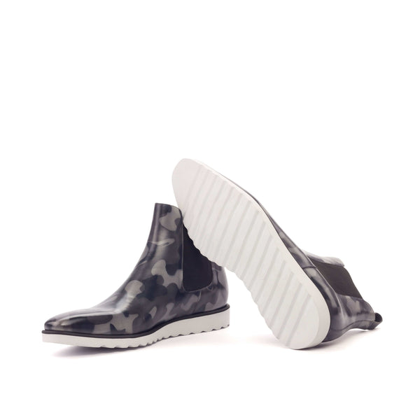 Chelsea Boots - Patina Heavy - Camo Grey-Albert Couture