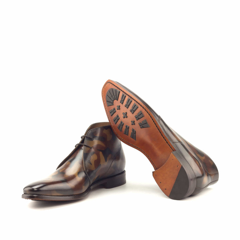Chukka - Patina Camo Brown-Albert Couture