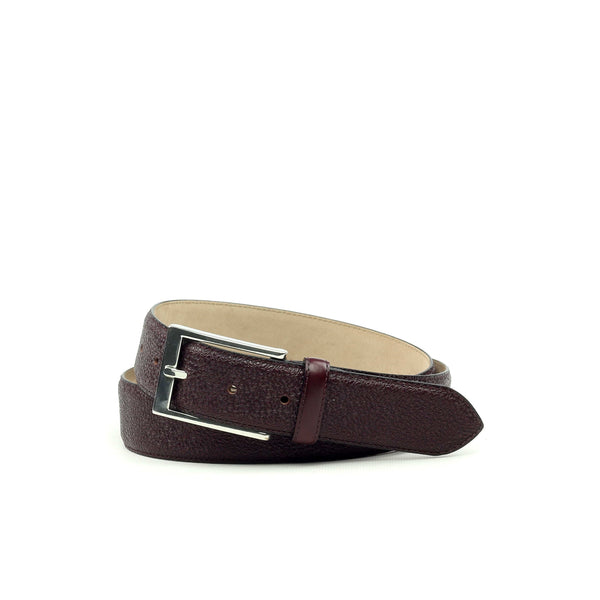 Belt - burgundy Calf-Albert Couture