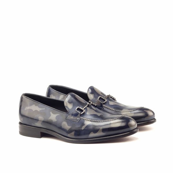 Loafer - Denim Camo Patina Regular-Albert Couture