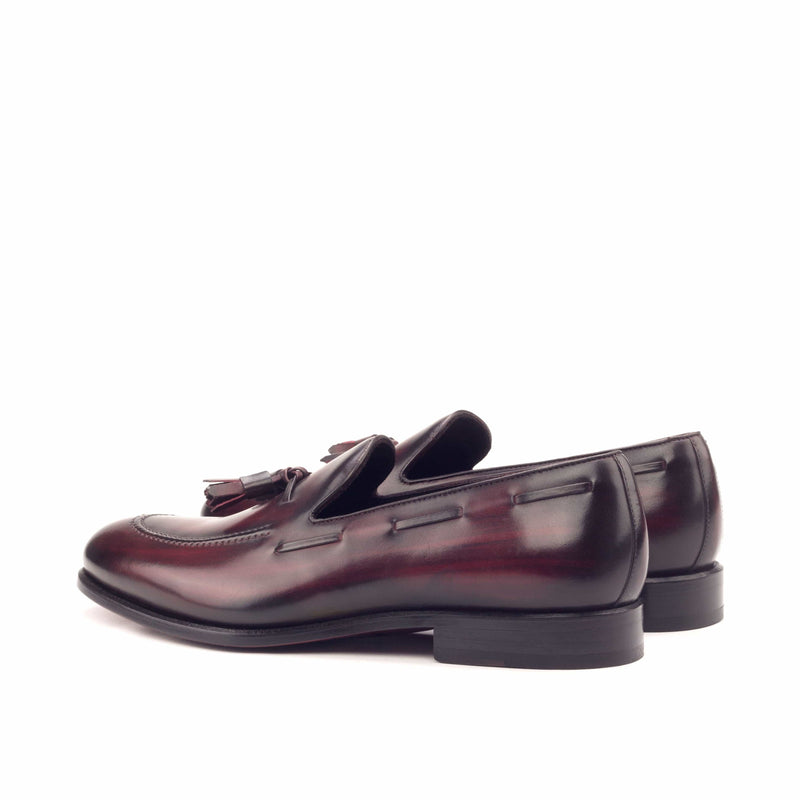Loafer - Patina Heavy Burgundy-Albert Couture