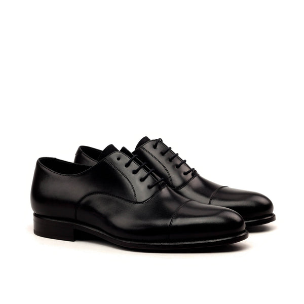 Oxford - Box Calf Black Lux Suede Black-Albert Couture