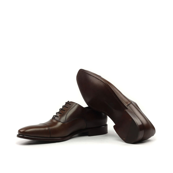 Oxford - Brown Painted Calf-Albert Couture