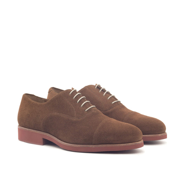Oxford - Lux Suede Med Brown-Albert Couture