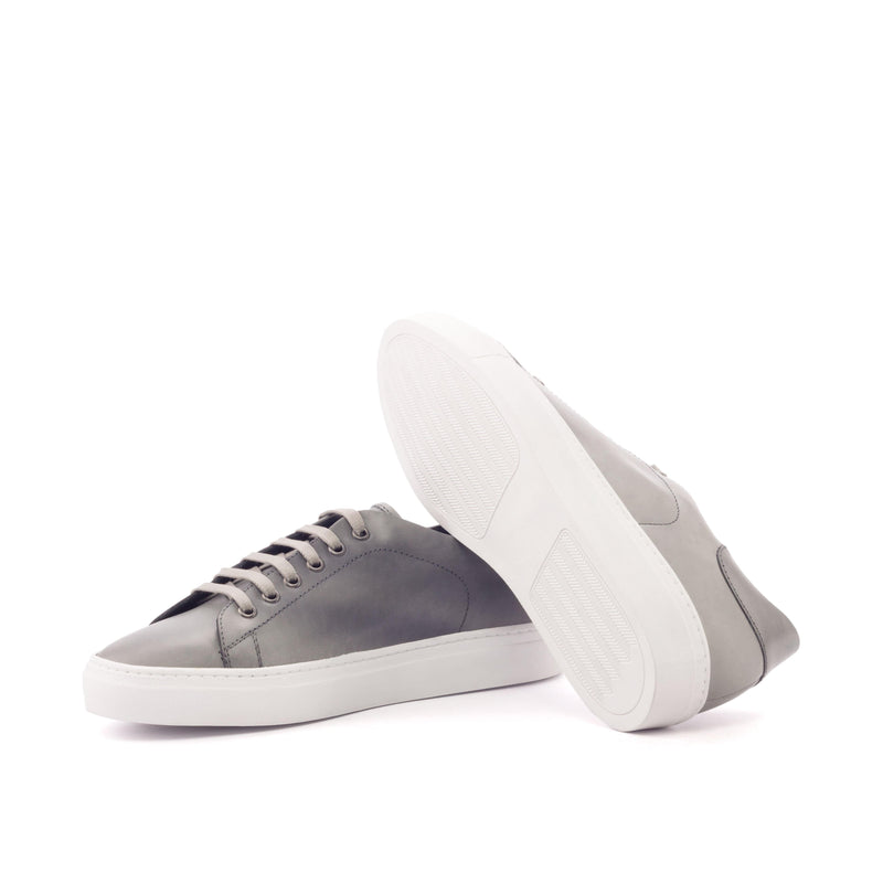 Trainer Sneaker - Polished Calf Grey