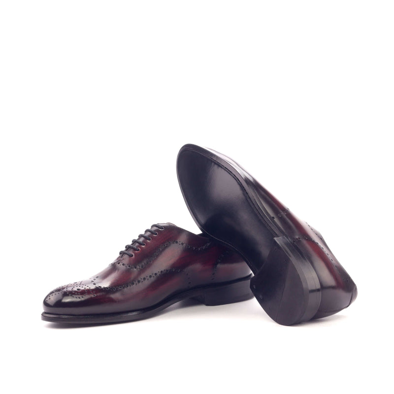 Whole Cut - Patina Heavy Burgundy-Albert Couture
